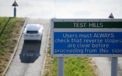 Proving Ground Test Hills