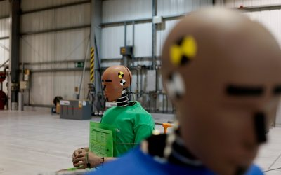 Test Services Test Facilities Crash Test Dummy Certification