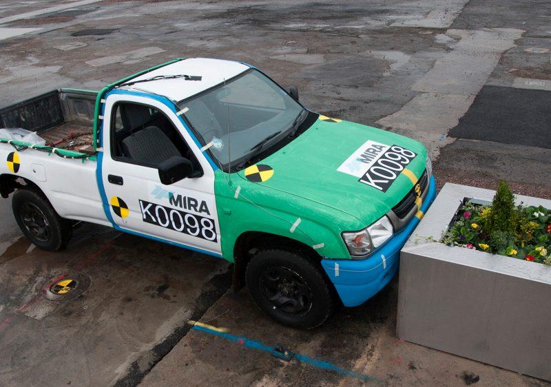 Test Services Safety Hostile Vehicle Mitigation